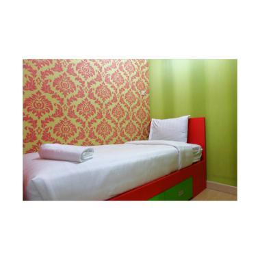 Travelio JE42MT56 2BR In Green Pramuka Apartemen [1 Bulan]