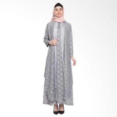 Kasa Heritage Artura Dress Muslim Set - Grey