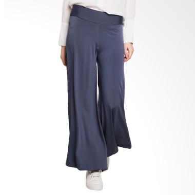 Ayda Celana Kulot Jumbo Wanita - Grey