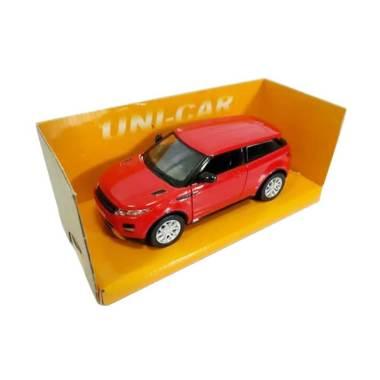 Uni Car 41 Range Rover Evoque Diecast Merah 1 36