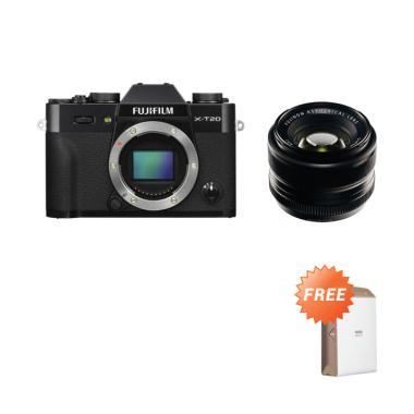 Fujifilm XT20 X-T20 Body Black + XF ...  (By Claim) GARANSI RESMI