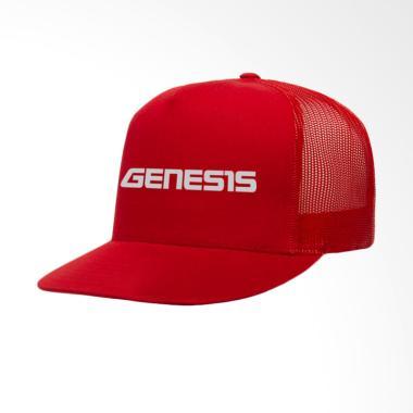 IndoClothing Genesis Yamaha Topi Trucker - Merah