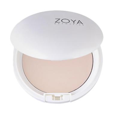 Zoya Two Way Cake Natural White Powder - Blossom