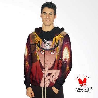 Fika Tema Naruto 3D Full Print Subl ... Jaket Hoodie Sweater Pria