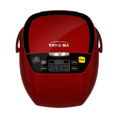 Yong Ma YMC-801R Digital Rice Cooker - Red [2 L]