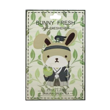Bunny Fresh Samurai Green Tea Hoza Scent Air and Car Freshener