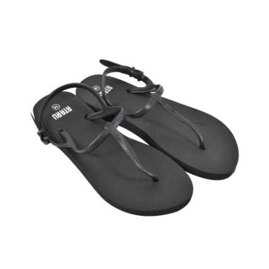 harga Ataru ukuran 38 sandal wanita t strap - hitam Blibli.com