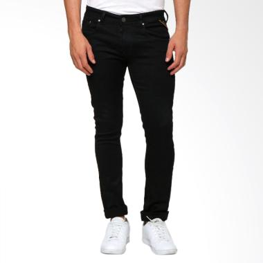 Boy London Slim Fit Celana Jeans Pria - Black
