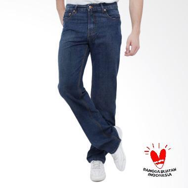 FTS Trendy Standard Celana Jeans Pria - Biru Dongker