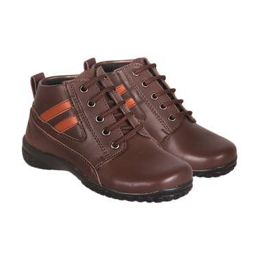 Recommended 350 Sepatu Boots Anak Laki-laki - Coklat
