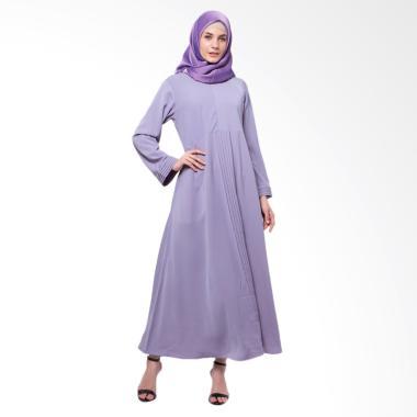 Allev Safira Dress Muslim Wanita - Lavender