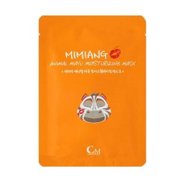 Mimiang Animal Mayu Wrinkle Mask Masker Wajah [10 pcs/ Box]