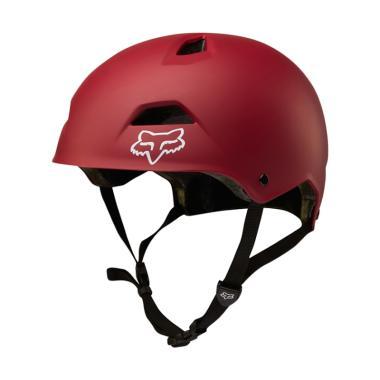 Fox Flight Sport Helm Sepeda - D.Red 20184-208