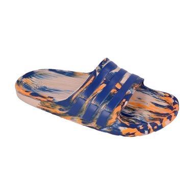 adidas Originals Duramo Slide Art Sandal Pria [#AQ2157]