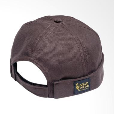 NHS Wear Miki Hat Peci - Brown