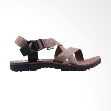 Catenzo Kasual Sandal Pria - Coklat [091]
