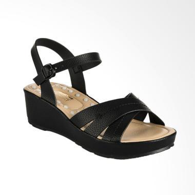 Bata Ladies 6616564 Cathe Sandal - Black
