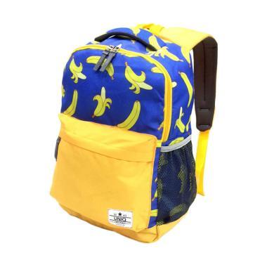 UNIQ 70107 Banana Uniq Backpack Tas Sekolah Anak - Blue