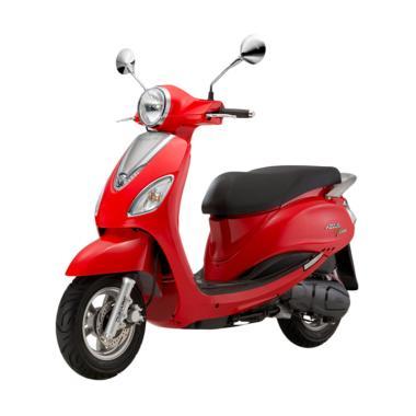 SYM Attila Venus 125 Motor - Red [OTR Bandung]