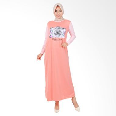 Edberth Fashion Alinka Long Dress Muslim Wanita