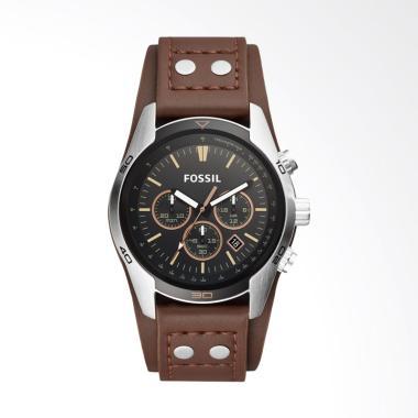 Fossil Coachman Chronograph Watch Jam Tangan Pria - Brown [CH 2891]