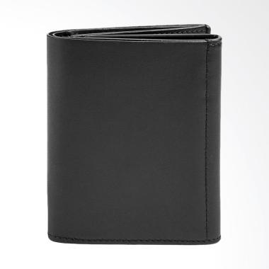 Skagen Jorck Leather Wallet Dompet Pria - Black