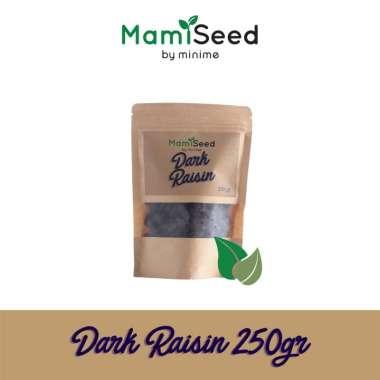harga Mamiseed Dark Raisin 250gr - Kismis Hitam Blibli.com