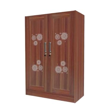 Super Furniture Baby Locker BL 207 Lemari Pakaian Anak - French Walnut