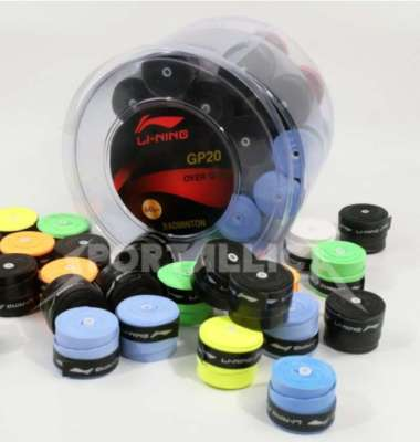 harga GRIP KARET BULAT 1BOX -60 PCS LINING - PEGANGAN RAKET LINING GP20 - Multicolor Blibli.com