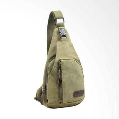 Bag & Stuff Tactical Tas Selempang Pria - Army Green