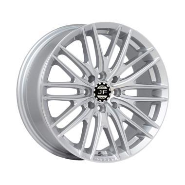 JF Luxury VFS4 Ring 17x7.5 PCD 8x10 ... Silver [Pasang di Tempat]