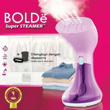 harga Setrika Uap BOLDe Super Steamer LAVIOLA - Gosokan Baju - Ungu Lavender MULTY COLOUR Blibli.com