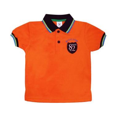 MacBear Polo Basic Denim 82 Junior Baju Atasan Anak