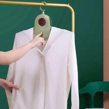 harga Gantungan Baju Pengering Pakaian Elektrik Portable 220V - Green Blibli.com