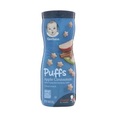 Gerber Puffs Apple Cinnamon Cereal Snack [42 g]