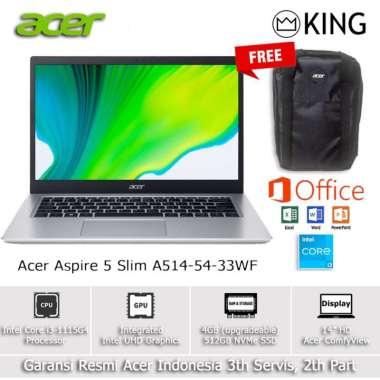 harga ACER ASPIRE 5 A514 54 LAPTOP [i3 1115G4 4GB 512GB SSD 14HD OHS] Blibli.com