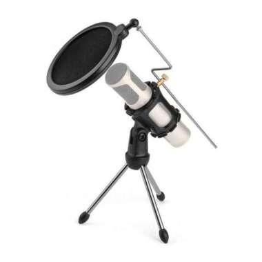 harga Zeepin Mini Tripod Stand Mikrofon Universal dengan Pop Filter - PS-05 Multicolor Blibli.com