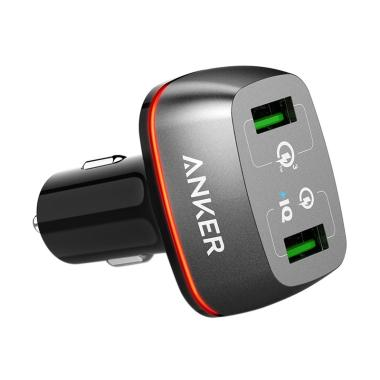 Anker A2224611 PowerDrive+ 2 42W Ca ... rt with Quick Charge 3.0]