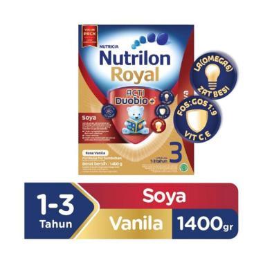 Nutrilon Royal Soya Acti Duobio 3 Vanila Susu Formula [1400 g]