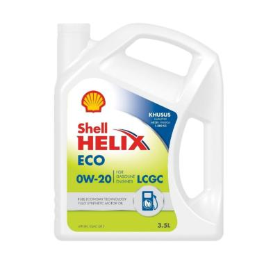 Shell Helix ECO Synthetic 0W 20 35 Liter