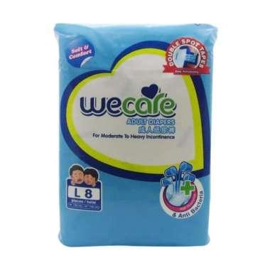 harga POPOK DEWASA MURAH | We Care Adult Diapes L8 Blibli.com