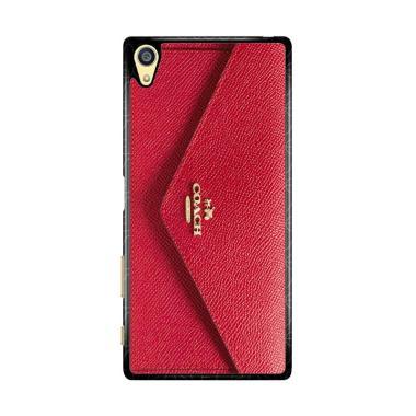 Flazzstore Coach Soft Wallet X4785 Premium Casing for Sony Xperia Z5 Premium or Z5 Plus