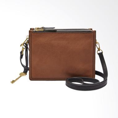 Fossil Campbell Leather Sling Bag Tas Wanita