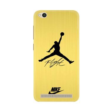 harga Flazzstore Air Jordan Flight Signature Nike Gold L1551 Premium Casing for Xiaomi Redmi 5A Blibli.com