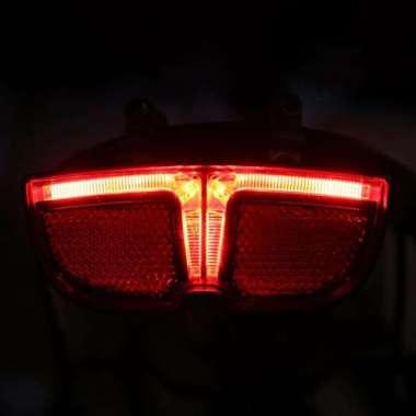 harga Aksesoris Lampu Ekor Sepeda untuk bag Mid Drive Motor Warna Hitam Blibli.com