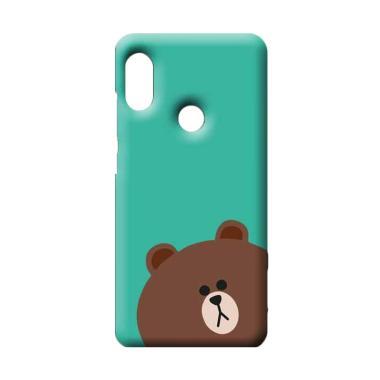 Casing Xiaomi Redmi Note 5 Pro Brown 2 Hardcase Custom Case Se7enstores