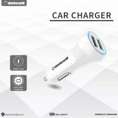 Dijual DELCELL CAR CHARGER 2.2 A Murah