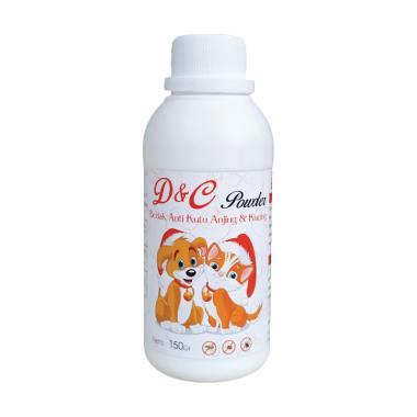 D&C Bedak Kesehatan Anti Kutu Anjing & Kucing [150 g]