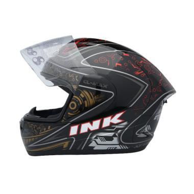 harga INK CL-MAX #1 Helm Full Face - Black Red Blibli.com
