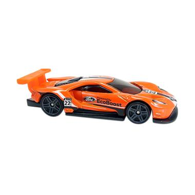 Hot Wheels  Ford Gt Racecast Orange